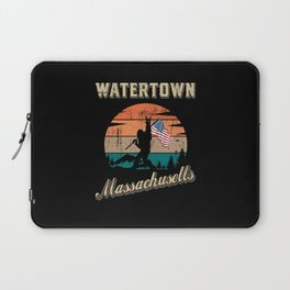 Watertown Massachusetts Laptop Sleeve