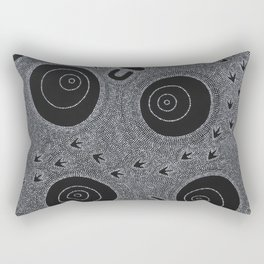 KUNGKA KAANKA (WOMAN/RAVEN) Rectangular Pillow