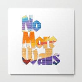 No More Walls Metal Print