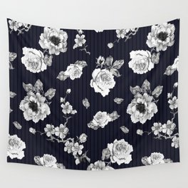 Flowers With Effect Wall Tapestry
