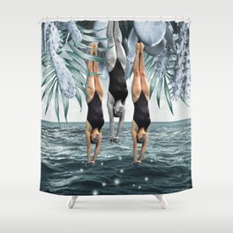 Dive Into Shower Curtain