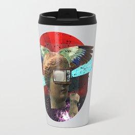 Wonder Wood Dream Mountains - The Demon Cleaner Series · You Got Me Floatin´ · Crop Circle Travel Mug