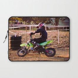 Motorbike cross racing Laptop Sleeve