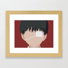 Human Kaneki Ken Framed Art Print