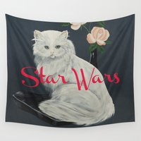 starwars Wall Tapestries featuring Wilco - StarWars by NICEALB