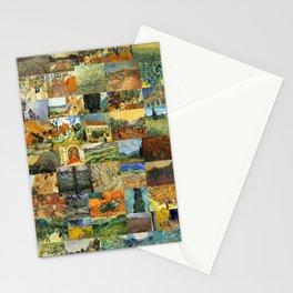 Vincent van Gogh Montage Stationery Cards