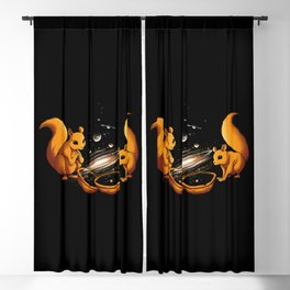 Universe In a Nutshell Blackout Curtain