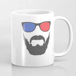 3D beard Coffee Mug