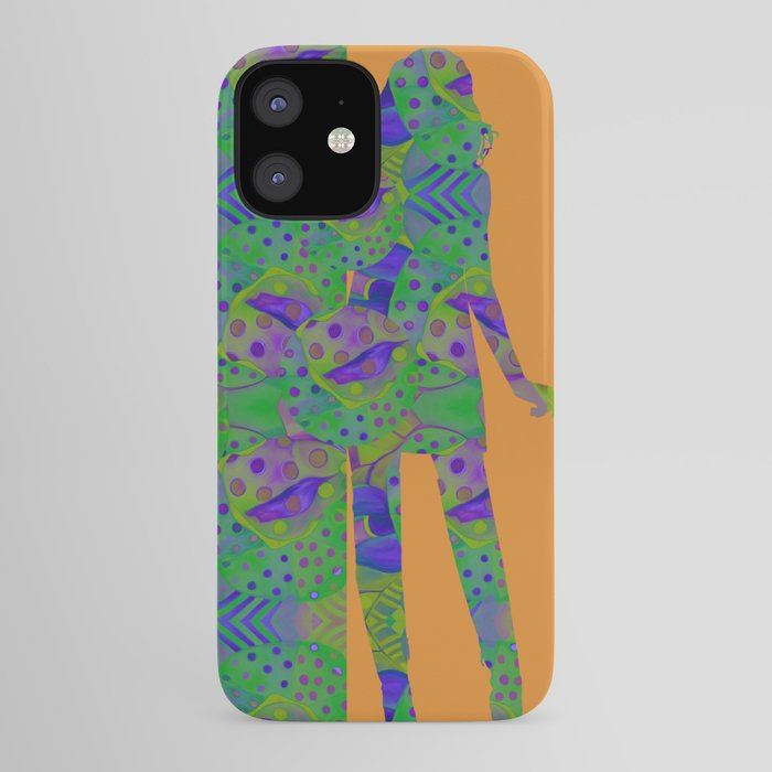 """Be yourself (Pop Fantasy Colorful Woman)"" iPhone Case"