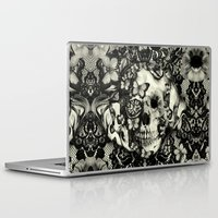 victorian Laptop & iPad Skins featuring Victorian Gothic by Kristy Patterson Design