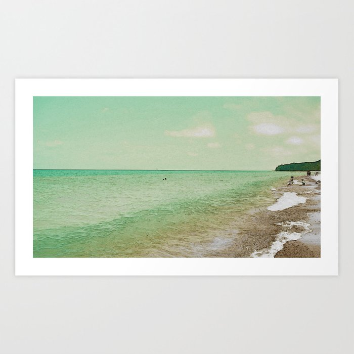On the Beach #1 Art Print