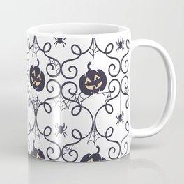 happy hallowen curves and pumkins pattern Coffee Mug