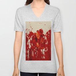 Blood Heart Unisex V-Neck