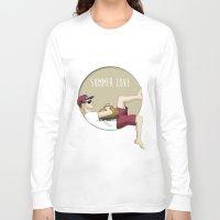 niall horan Long Sleeve T-shirts featuring Niall Horan - Summer Love by Lissa Félix