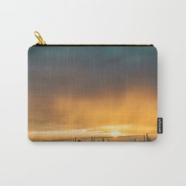 Grand Haven Beach Sunset Carry-All Pouch