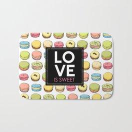 Love is sweet. Bath Mat