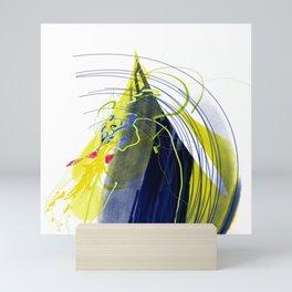 pollinators rhythmic beat in the spring wind Mini Art Print