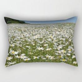 Ox-Eye Daisies Rectangular Pillow