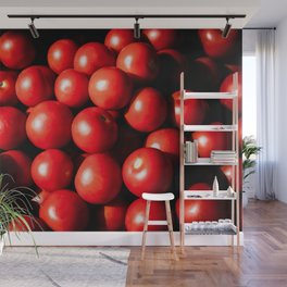 Red Tomato Vegetables Wall Mural