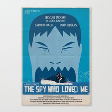 THE SPY WHO LOVED ME Canvas Print