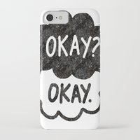 tfios iPhone & iPod Cases featuring OKAY?OKAY THE FAULT IN OUR STARS TFIOS HAZEL AUGUSTUS CLOUDS by monalisacried