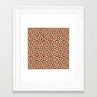 persian Framed Art Prints featuring Persian Seal by Peter Gross