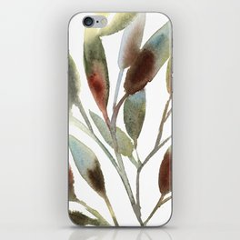 Leaves branch iPhone Skin