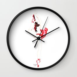 Ballerina / Dancer Wall Clock