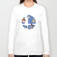 smash bros Long Sleeve T-shirts featuring Megaman Smash Bros. by CmOrigins