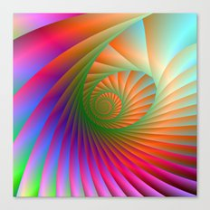 Spiral Shell Canvas Print