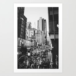 Streets of New York Art Print