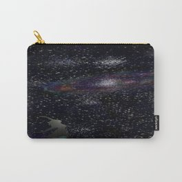 This Life Is Beautiful, With the Colors of The Universe Carry-All Pouch