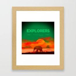 Explorer fant Framed Art Print