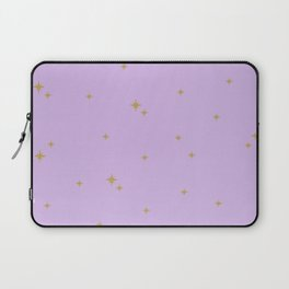Purple Starburst Pattern Laptop Sleeve