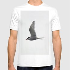 Artic Tern MEDIUM Mens Fitted Tee White