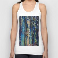 labyrinth Tank Tops featuring Labyrinth by Robert Horvath