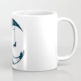 Climber's Sky   Rock Climbing Coffee Mug