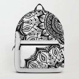 Mistletoe-Black Backpack