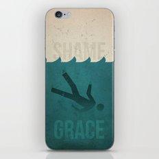 Shame to Grace iPhone & iPod Skin