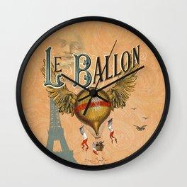 Le Ballon Wall Clock