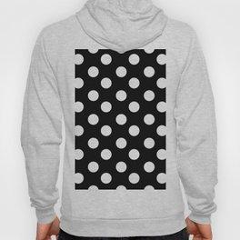 Polka Dot (White & Black Pattern) Hoody
