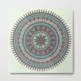 Milagro Mandala Metal Print