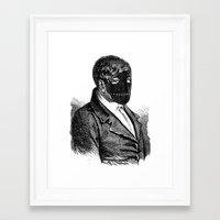 bdsm Framed Art Prints featuring BDSM XXVI by DIVIDUS