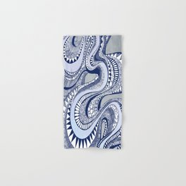 Blue Taffy Hand & Bath Towel
