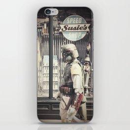 Boba Fett at Susie's Speed Shop iPhone Skin