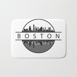 Boston Massachusetts Bath Mat