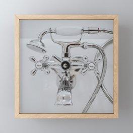 Clawfoot Faucet Framed Mini Art Print
