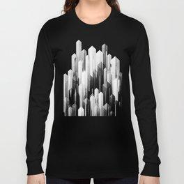 obelisk posture 3 (monochrome series) Long Sleeve T-shirt