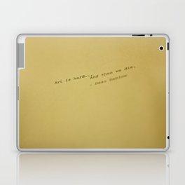art is hard... Laptop & iPad Skin