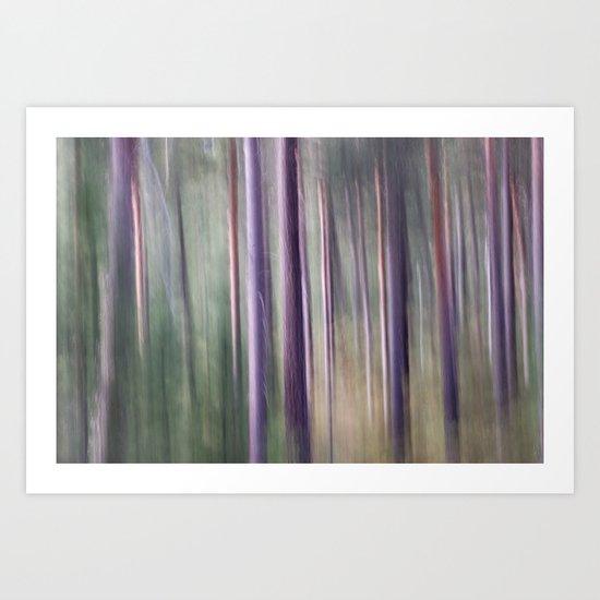 Magic wood Art Print